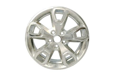 Tata car`s aluminum alloy wheels